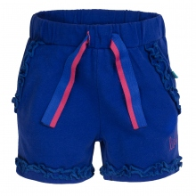 Lief! Shorts Mäd. Rüschen - stahlblau