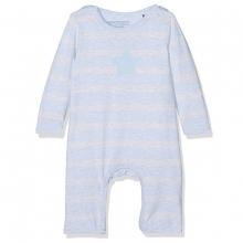 Bellybutton Schlafanzug Streifen,Stern - nebelblau