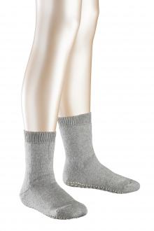 Falke Kinder Catspads Socke - grau meliert