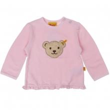 Steiff Sweatshirt, Rüsche - rosa