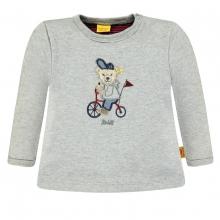 Steiff Baby Sweatshirt Ju Fahrradbär