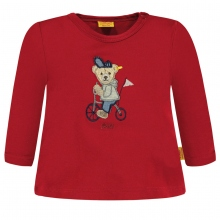 Steiff Baby T-Shirt lg.Arm Ju Fahrradbär