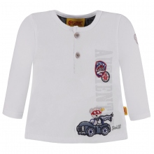 Steiff T-Shirt lg.Arm Junge Bär im Auto