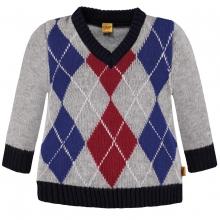 Steiff Pullover Junge Rautenmuster