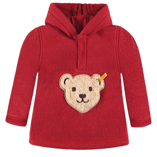 Steiff Sweatshirt Fleece Junge Kapuze