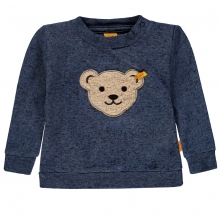 Steiff Baby Sweatshirt Ju uni Teddykopf