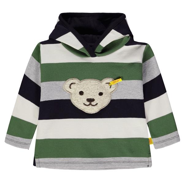 Steiff Sweatshirt Junge 4-farbig Kapuze