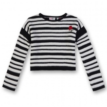 George Gina & Lucy Kurz Pullover Ringel