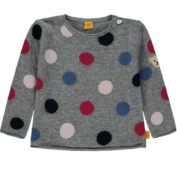 Steiff Pullover Mädchen bunte Punkte