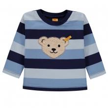 Steiff Baby Sweatshirt Ju blaue Ringel