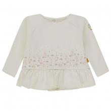 Steiff Baby Sweatshirt Mäd Blumen Rüsche