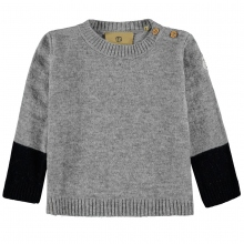 Mother Nature Pullover grau-blau