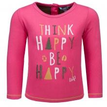 Lief! T-Shirt lg.Arm Mäd. Think Happy...