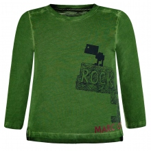 Marc O`Polo T-Shirt lg.Arm grün Rock