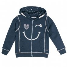 Salt & Pepper Sweatjacke Gesicht Kapuze