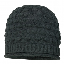 Maximo Strick Beanie Mütze grau