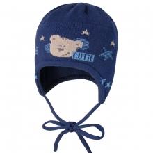 Maximo Baby Strick Mütze Bär