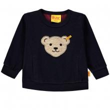 Steiff Sweatshirt Junge Strickoptik