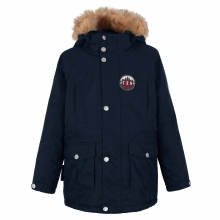 Ticket to Heaven Parka Maron marine