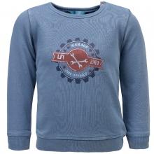 Lief! Sweatshirt Ju. Strickoptik Emblem