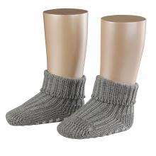 Falke Baby Catspads Socke - grau meliert