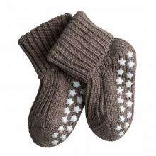 Falke Baby Catspads Socke - braun meliert