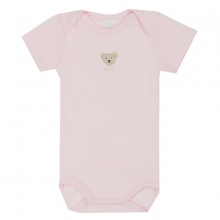 Steiff-Single Jersey Body Halbarm - rosa