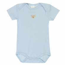 Steiff-Single Jersey Body Halbarm - hellblau
