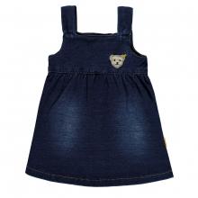 Steiff Baby Jeans Träger-Kleid