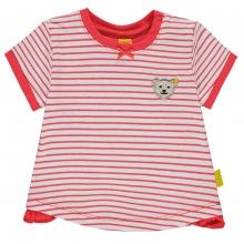 Steiff Baby T-Shirt Mäd.Ringel Rüsche