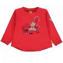 Steiff Baby T-Shirt lg.Arm Mäd.Bär Bank