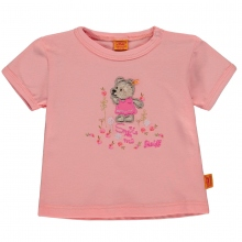 Steiff Baby T-Shirt Mäd. Peach Bär - 2163