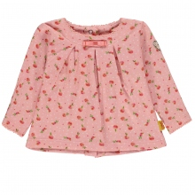 Steiff Baby T-Shirt lg.Arm Mäd. Peach