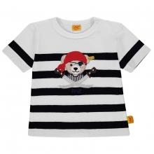 Steiff Baby T-Shirt Ju. Ringel Pirat - marine