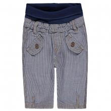 Steiff Baby Jeans Hose Ju. Streifen - blau