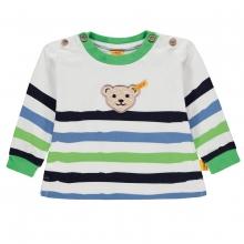 Steiff Baby T-Shirt lg.Arm Ju. Farbringe