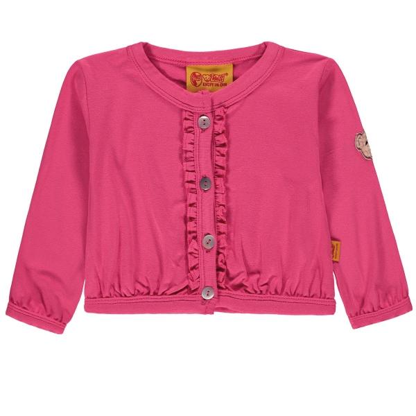 Steiff kurze Shirt-Jacke Mäd. Rüschen