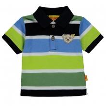 Steiff Poloshirt Ju. 4-farbig