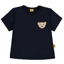 Steiff T-Shirt Ju. uni Bär auf Brust