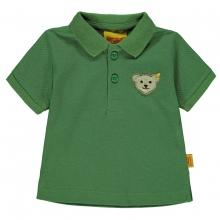 Steiff Pique Poloshirt Ju. grün