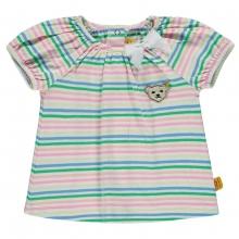 Steiff T-Shirt Mäd. bunte Streifen