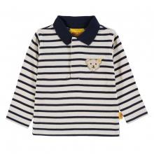 Steiff Poloshirt lg.Arm marine Ringel