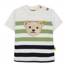Steiff T-Shirt Ju. blau-grün Ringel