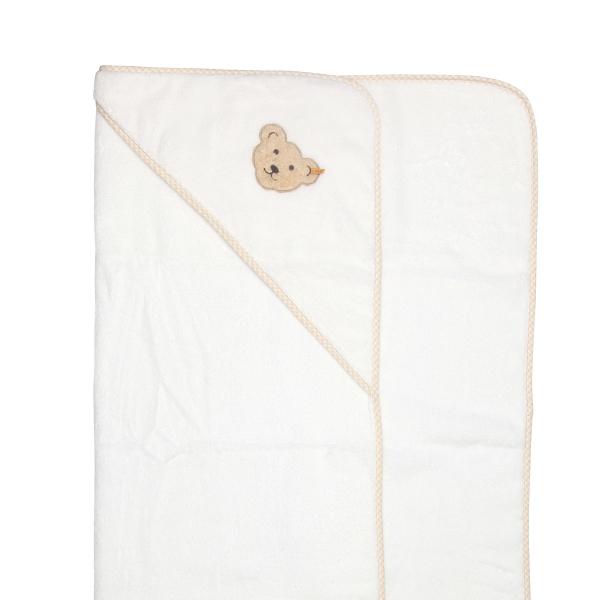 Steiff-Frottee Kapuzenbadetuch 100x100cm