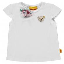 Steiff T-Shirt Flügelarm Stoffblume