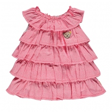 Steiff Baby Volant Kleid o.Arm Pappus