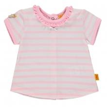 Steiff Baby T-Shirt Mäd. Rüsche Streifen