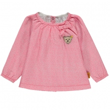 Steiff Baby Bluse lg.Arm Pappusmuster