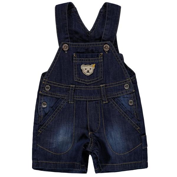 Steiff Baby Jeans Latzbermuda Ju.