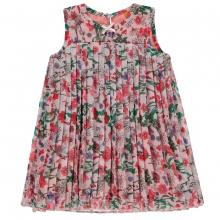 Steiff Plissee Kleid o.Arm Blumen